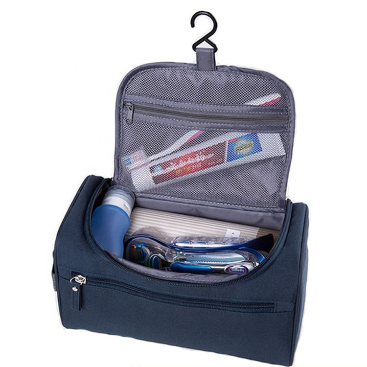 7d5df9f6d4 Hanging Travel Organizer Bathroom Shower Mens Shaving Grooming Cosmetic Kit  Bag