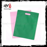 Fancy non woven goodies bag malaysia, screen printing non-woven pouch, oversized nonwoven pouch