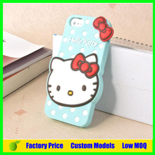 Hello kitty Silicone 3d phone case for Motorola Moto G cell phone case back cover