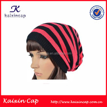 Kaixin Custom Made Wholesale Simple Blank Sexy Women Winter Hat