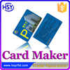 No.1 Maker low costs free custom design CR80 Plastic print card