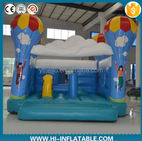 Blue inflatable jumper/inflatable bouncy castle for kids