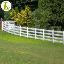 Professional Manufacturer Ranch Vinyl Horse Fence