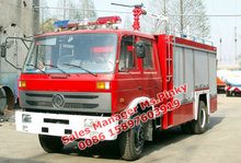 5T -6T 153 Dongfeng Fire Rescue Trucks With Water and Foam Tank For Tender Fire Trucks New For Sales