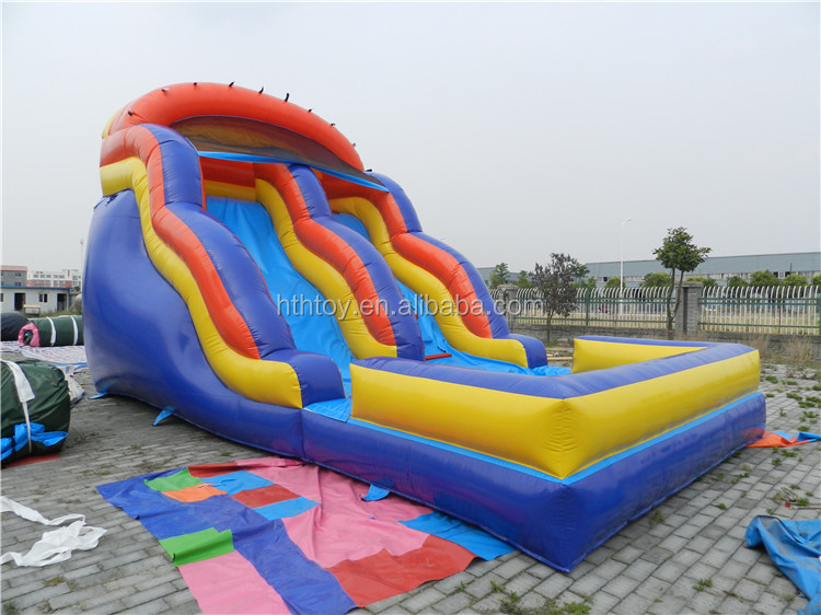 Banana theme inflatable water slide for sale
