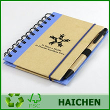 Recyclable Notebook With Ballpoint Pen