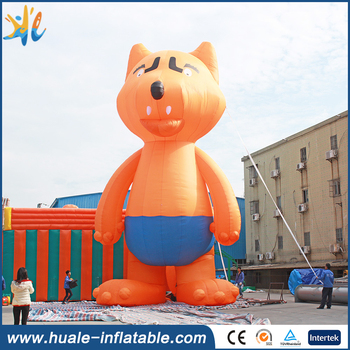 2017 hot sale Popular Giant Lovely Inflatable Animal Fox / Newest Customized Design Inflatable Cartoon Fox Model