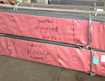 Hot rolled annealed and pickled stainless steel plates Material W.-Nr. 1.4116 to EN 10 088-2 (DIN/EN) X50CrMoV15