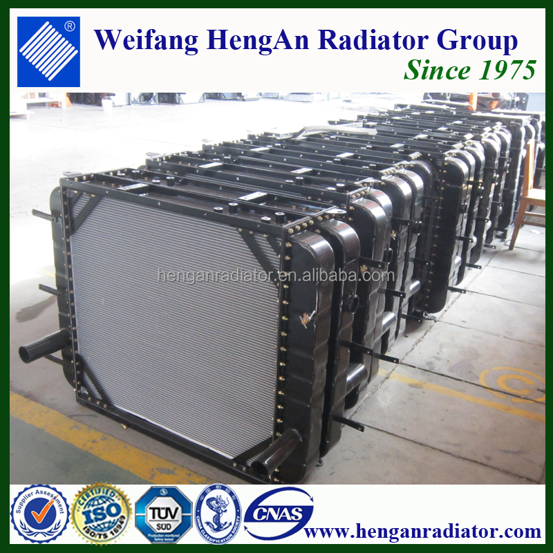 heavy equipment radiators