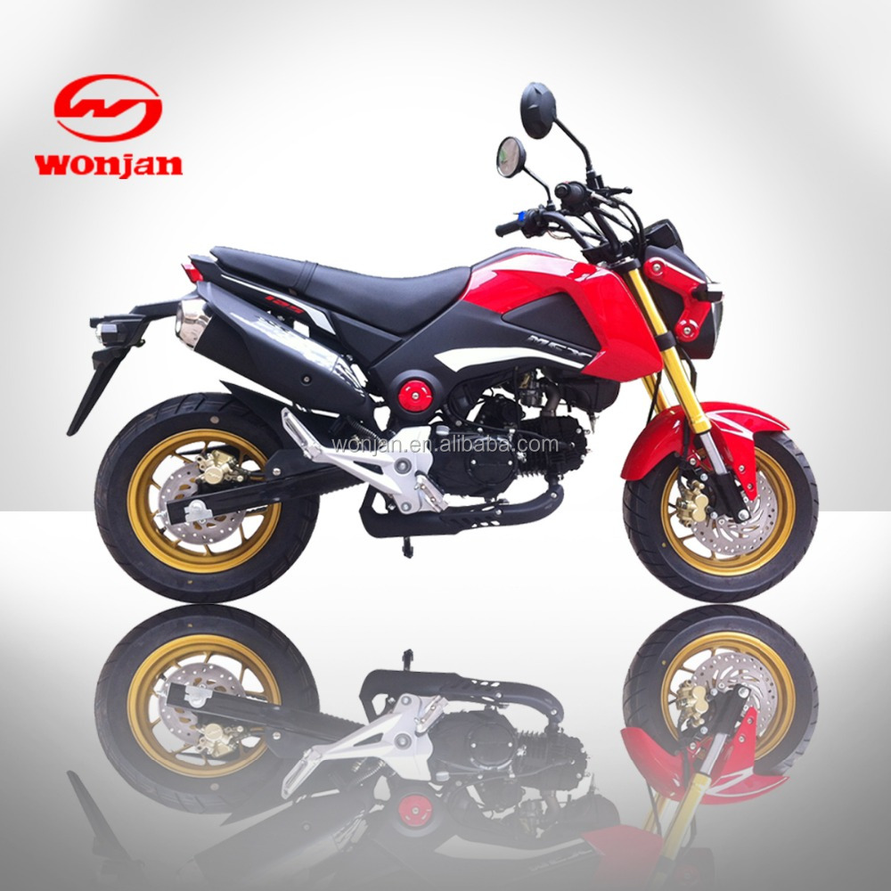2016 New 125cc Monkey For Sale China Motorcycle Manufacture Supply Directly,WJ125