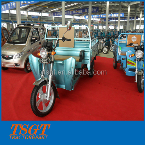 easy model E power 3 wheeler for cargo transportaton big loadging capacity without cabin