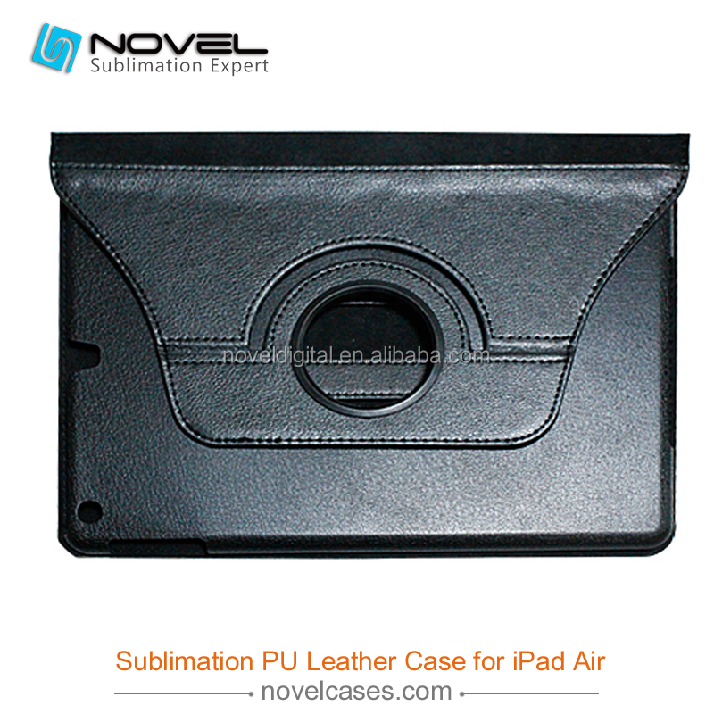 360 Rotate Sublimation Leather Tablet Case For iPad Air/5