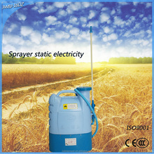 New agricultural model battery powered chemical hand cannon backpack sprayer