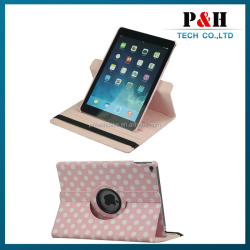 360 Rotating PU Leather Ultra Slim Case Cover Stand for Apple iPad Air