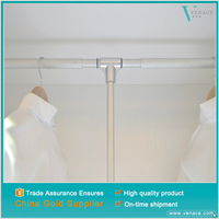 Cabinet garment storage stainless steel clothes hanger