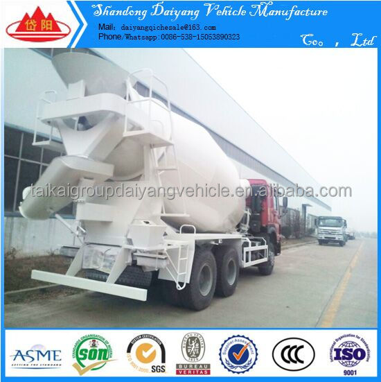 Multifunctional construction machine HOWO concrete mixer truck