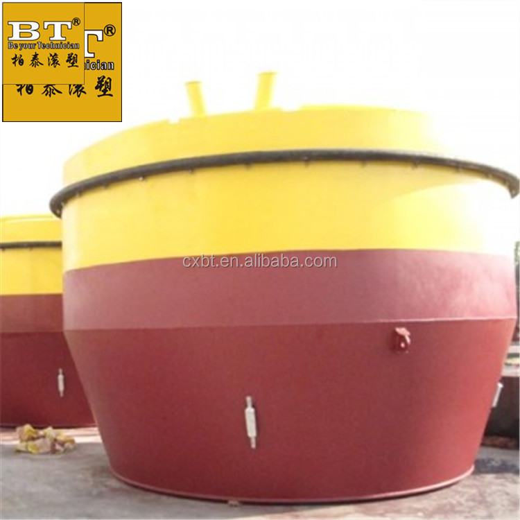 LLDPE Food grade floating buoys south africa mooring buoy 151 plastic environmental-friendly