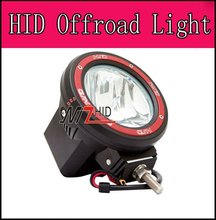 "7"" HID work light ,HID driving light,HID offroad light 35W55W"