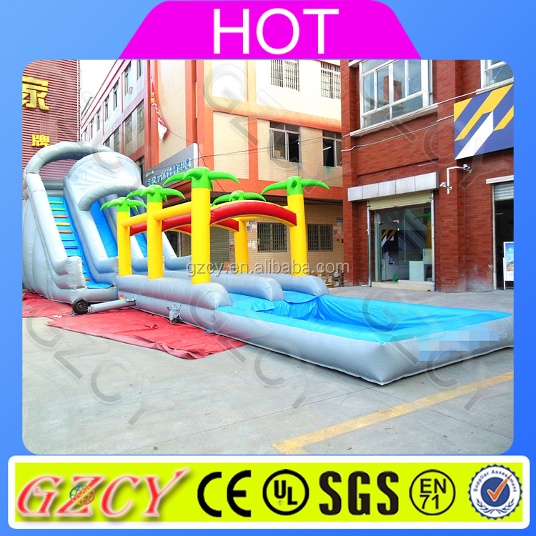 Inflatable Long Slip And Slide For Backyard