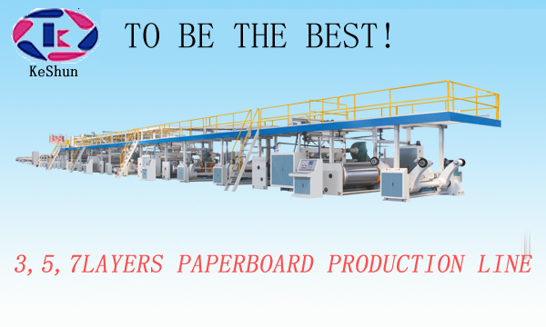 Cardboard Production Line Fully Automatic Corrugated Box Machine