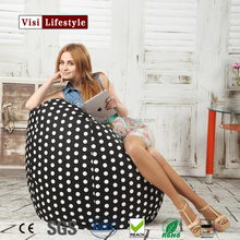 Waterproof Polyester outdoor use teardrop bean bag chairs wholesale cover