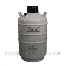 YDS-20 20l liquid nitrogen container of nitrogen liquid tank for cattle artificial insemination guns
