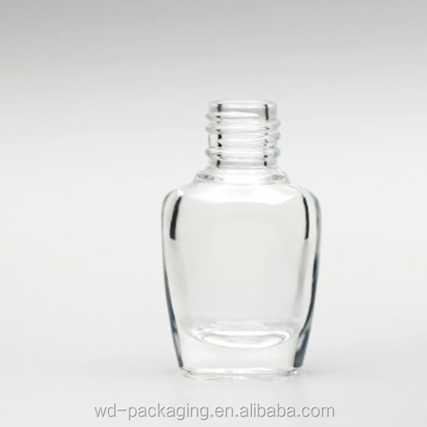 WD-00782 popular design 6ml round shape glass bottle for nail polish bottle