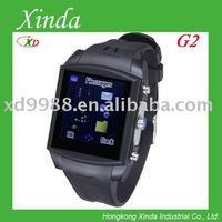 G2 watch mobile phone with waterproof and mini cell phone