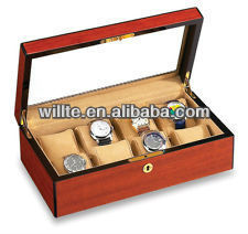 classical hot sale retail shop wood watch display case