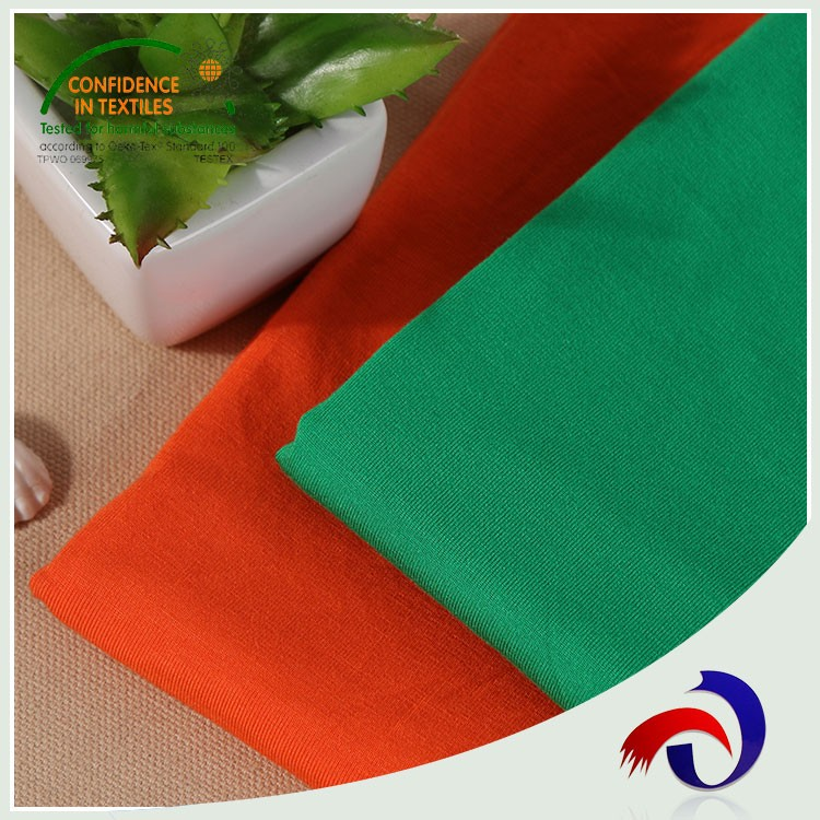 Hot product custom colorful sports 100% cotton jersey knit fabric
