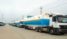 Truck Mounted Cryogenic Liquid Tank Container