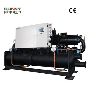 High Effective Cooling Capacity Screw Water Chiller