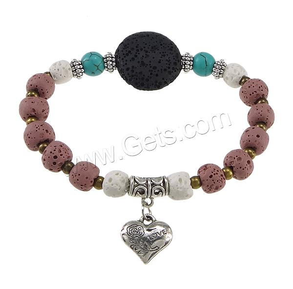 Lava Heart Moon Love Wholesale Charm 843487