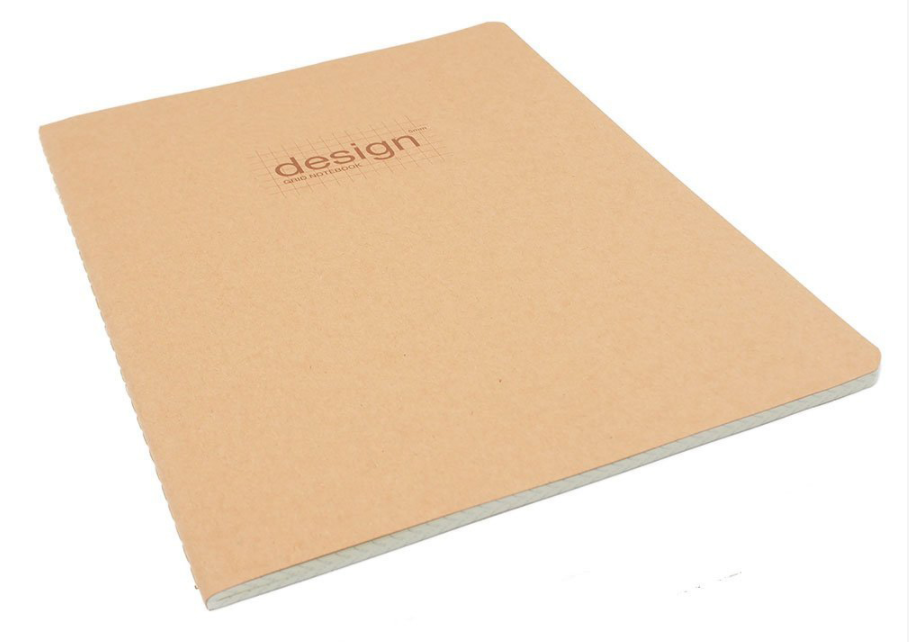Chinese Manufacturer Customized Kraft Paper A5 Dot Grid Journal Stitching Notebook