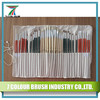 24 Piece Nylon & Bristle Oil and Acrylic Art Brush Set