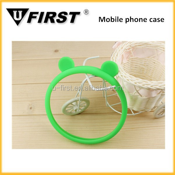 Colorful bumper case for mobile phone , factory wholesale price bracelet cell phone case