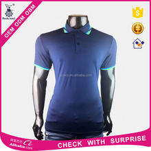 Polo Collar and Printed/plain /dyed Technics new design t shirts of mens casual wear