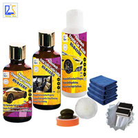 hydrophobic textile and leather coating plus car polishing paste and liquid car wax 9H hardness nano ceramic car glass coating