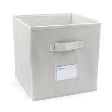 Household Usage and Eco-Friendly Feature Collapsible Magazine Storage Box Nonwoven Storage