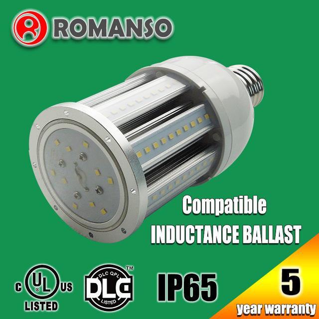 UL approved 25w e27 led light bulb 27w 360 degree corn bulb