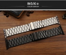 38mm 42mm Metal stainless steel band for apple watch ,22mm 24mm for apple watch band stainless steel,smart watchstrap