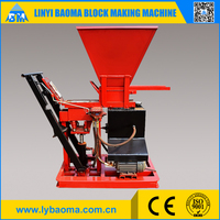 new machine for small business 1-15 interlocking fly ash bricks machine