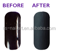 Soak Off Gel Nail Polish Matte Top Coat