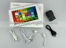 "9"" Sanei N91 Android 4.0 Allwinner A13 1.2GHz 2.0MP Dual Camera WiFi Capacitive Screen Android tablet pc"
