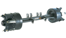 universial semi trailer chassis spoke axle