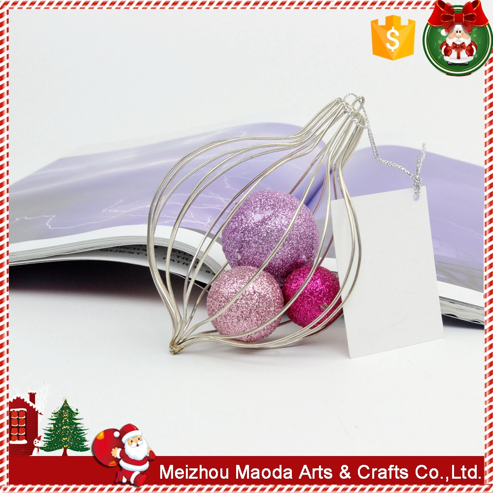 New product promotional fancy color christmas ornament ball