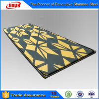 2016 New External Wall Decoration Stainless Steel Panel Products