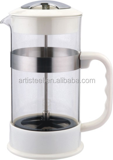 2016 new style 1.0 Litre Glass French Coffee Press