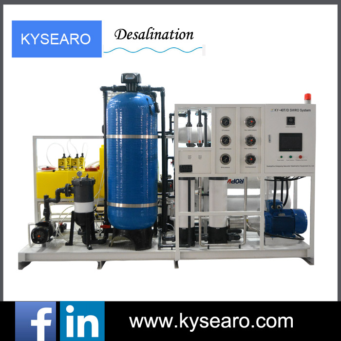 Total solution RO salt water treatment system reverse osmosis desalination purifying water treatment plant with best price