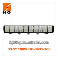 Straight high power three rows 180W auto led light bar , atuo electronic parts for offroad